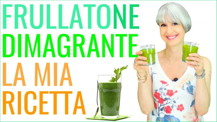 GREEN SMOOTHIE! FRULLATONE DIMAGRANTE LIGHT BRUCIA GRASSI!! RICETTA per DIMAGRIRE in ESTATE