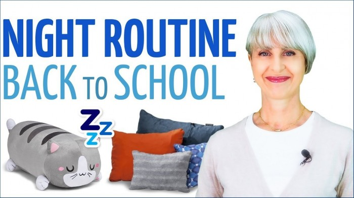 SOGNI d'ORO!! NIGHT ROUTINE per il BACK to SCHOOL