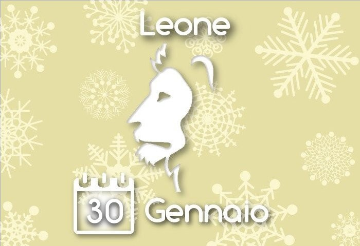 Oroscopo Leone del giorno 30 Gennaio 2016
