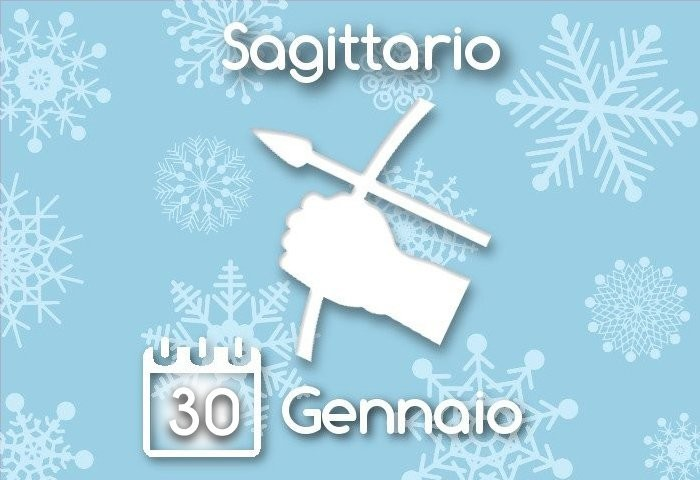 Oroscopo Sagittario del giorno 30 Gennaio 2016
