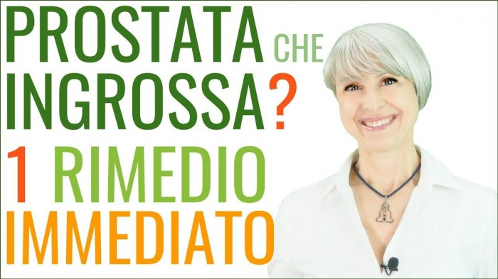 Prostata che ingrossa? 1 rimedio immediato efficace naturale