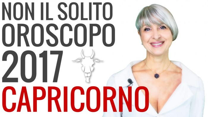 Video Oroscopo 2017 Capricorno