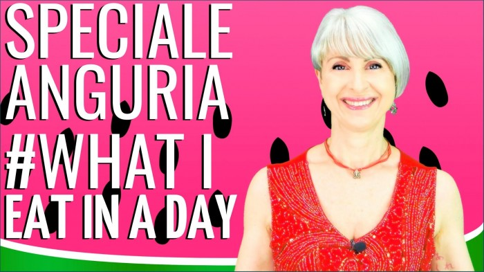 WHAT I EAT IN A DAY - speciale ANGURIA 10 RICETTINE SFIZIOSE FACILI E VELOCI