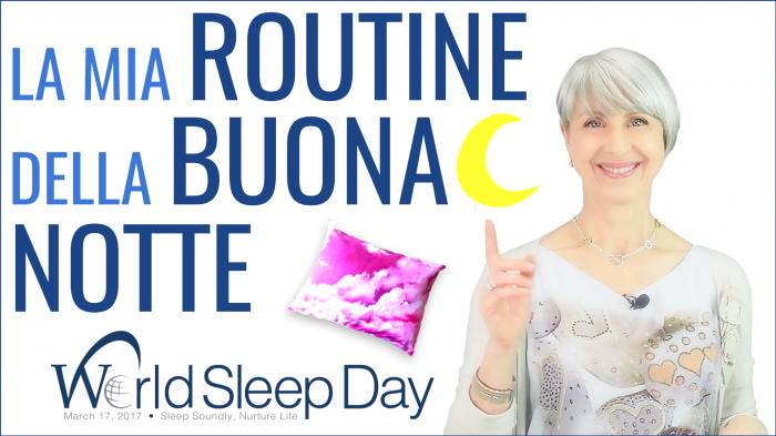 la mia ROUTINE della BUONANOTTE #World Sleep Day #NightRoutine